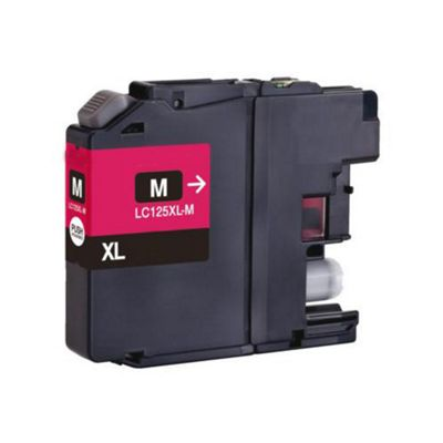 Brother LC125XLM Magenta Compatible High Capacity Ink Cartridge
