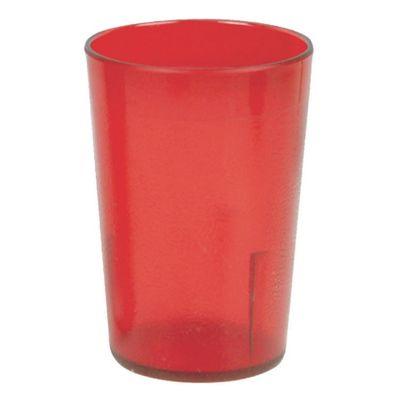 Clarity Original 8 oz Tumblers - Red (24 Pack)