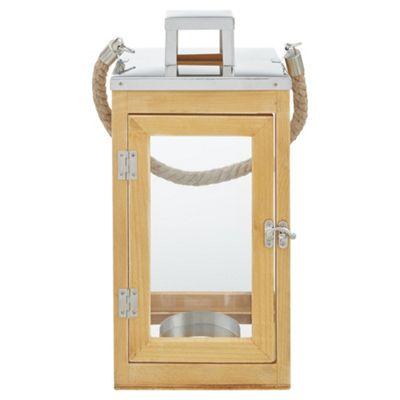 Tesco Wooden Lantern