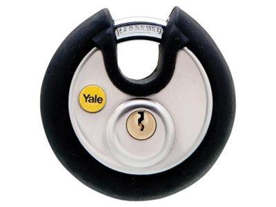 Yale Locks YALY13070 70 mm Stainless Steel Disc Padlock