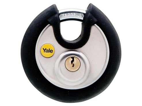 Yale Locks YALY13070 70 mm Stainless Steel Disc Padlock