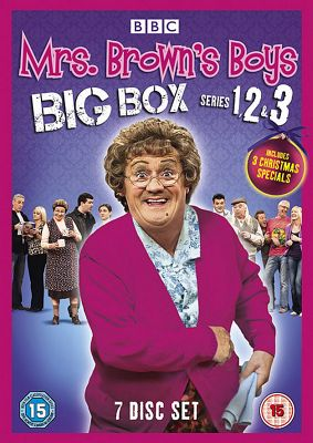 Mrs Brown TV Boxset S1, S2, S3 + xmas specials
