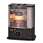 Zibro 2.7kW Wick Double Burner Paraffin Heater