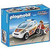 Playmobil 5543 City Action Coast Guard Emergency Vehicle