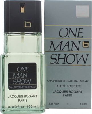 Jacques Bogart One Man Show Eau de Toilette (EDT) 100ml Spray For Men