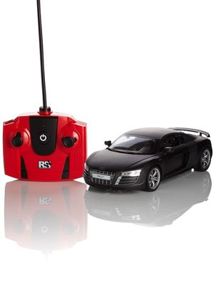 Audi R8 Black 1:24 Scale Radio Control Car