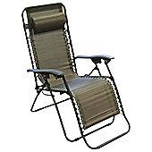 Bronze Gravity Relaxer Garden Chair