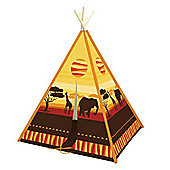 Children's Play Tent - African Design Wigwam
