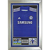Signed Diego Costa Chelsea FC Framed Football Shirt