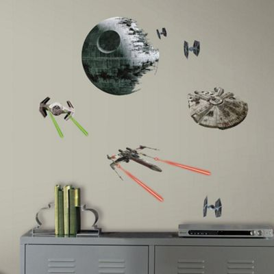 Star Wars Wall Stickers – Episode VII, Classic Ships