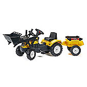 Ranch Loader Tractor with Trailer
