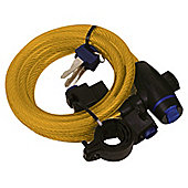 Oxford Motorcycle Bicycle MotorBike Scooter Cycle Cable Lock 1.8m X 12mm
