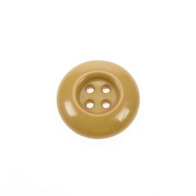 Dill Buttons 30mm Chunky Round Tan