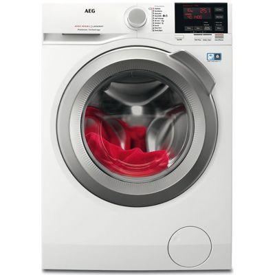AEG L6FBG142R - 1400rpm Washing Machine 10kg Load, A+++ Energy Rating, White