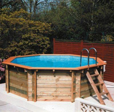 Plastica Octagonal Wooden Pool 6m Kensington