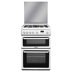 Hotpoint Newstyle Gas Cooker with Gas Grill and Gas Hob, HAGL60P - White