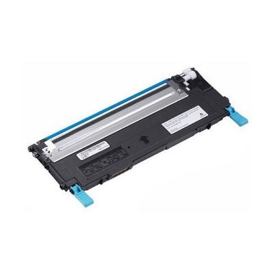 Dell Standard Capacity Cyan Toner Cartridge (Yield 1,000 Pages) for Dell 1235cn Multi-function Laser Printers