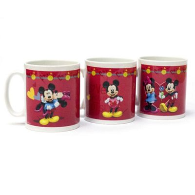 Mickey and Minnie Mouse Personalised Couples Mug
