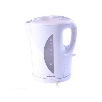 Sabichi Jug Kettle, Detachable Filler, Boil Dry Protection, 1.7L, 2200w (White)