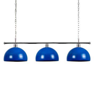 MiniSun Gulliver 3 Way LED Ceiling Light with Curva Shades - 6500K - Dark Blue