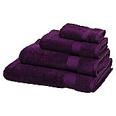Egyptian Cotton Purple Bath Towel