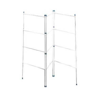 Bakaware A08 Clothes Horse 3Fold 20in