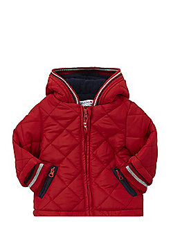 Babaluno Quilted Padded Jacket - Red