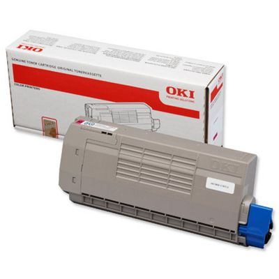 OKI Magenta Toner Cartridge for C711 A4 Colour Laser Printers (Yield 11500 Pages)