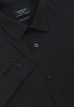 F&F Regular Fit Long Sleeve Shirt - Black