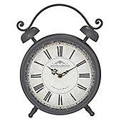 Classic Table Clock - Dark Grey
