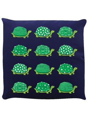 Turtley Awesome Navy Cushion 40x40cm