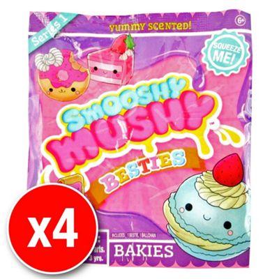 Smooshy Mushy Slow Rise Foam Besties - Bakies Blind Pack (4 packs supplied)