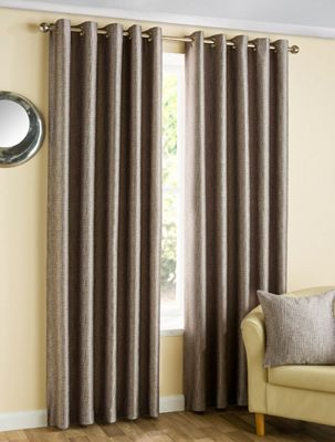 Zena - Heather - Eyelet Curtains - 46x54