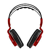BitFenix Flo headphones - 20 20000Hz 96db 68O 2m cable 200g Fire Red
