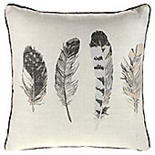 Fusion Idaho Charcoal Cushion Cover - 43x43cm