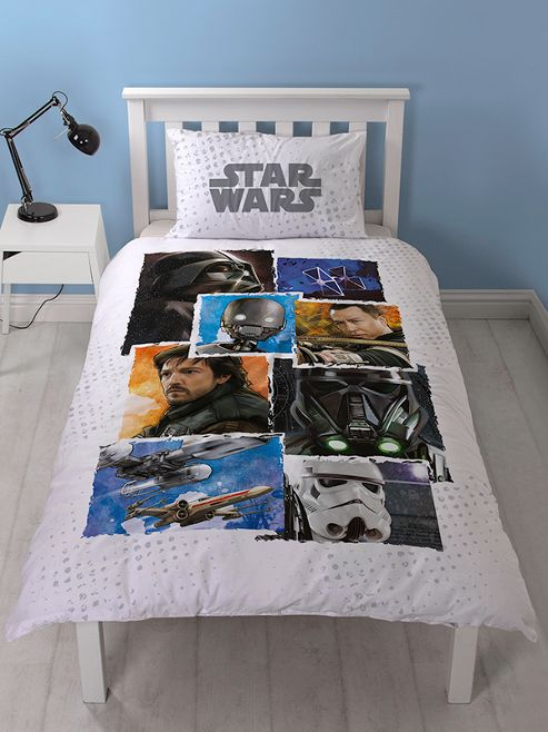 Star Wars Rogue One Battle Single Duvet Cover Set