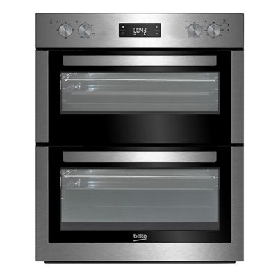 Beko BTF26300X 60cm Stainless Steel Electric Double Oven
