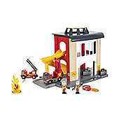 BRIO Central Fire Station Toy