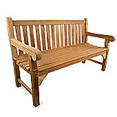 BrackenStyle Queensbury Teak Bench - 3 Seater