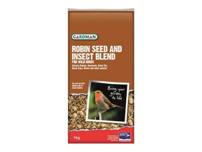 Gardman A05670 Robin Seed & Insect Blend 2Kg