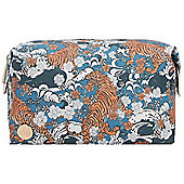 Mi-Pac Wash Bag - Oriental Tigers Blue Multi