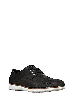 F&F Faux Suede Gibson Shoes - Black