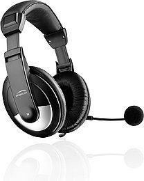 SPEEDLINK Thebe Stereo PC Headset + Microphone SL-8743-SBK-02