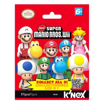 K'Nex Super Mario Mystery Figure Bag Series 1