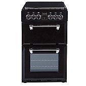 Stoves RICHMOND 550DFW 550mm Mini Range Dual Fuel Cooker, Black