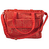 Summer Infant Messenger Bag Red Gold Swirl