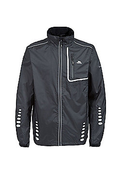 Trespass Mens Axle Bike Jacket - Black