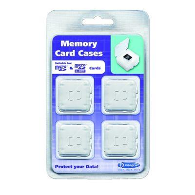 4 x Micro SD Card Cases