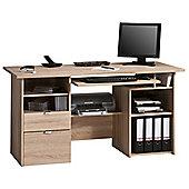 Maja Kensington Oak Computer Desk
