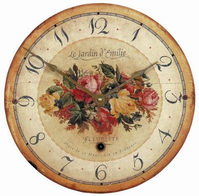 Roger Lascelles Clocks Emilie Rose Wall Clock